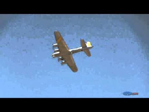 Electric B-17 Model RC Airplane