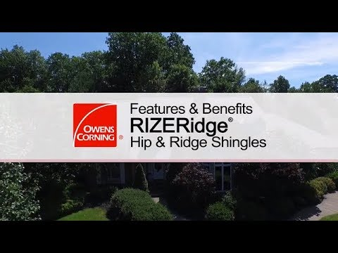 Roofing Product Guide | RIZERidge® Hip & Ridge Shingles