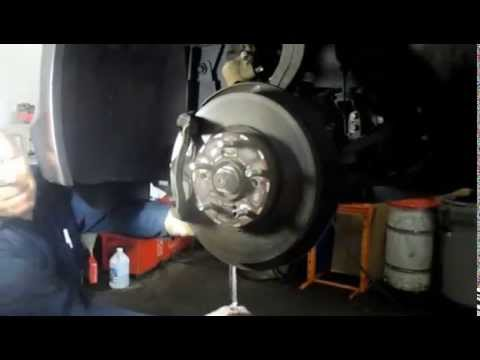 How to replace the front brakes and rotors on a 2010 Honda Accord