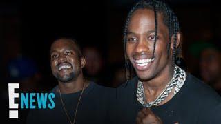 Kanye West & Travis Scott Team Up for New Music Video   E! News