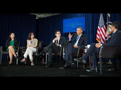 President Obama Speaks at the National Rx Drug Abuse & Heroin Summit