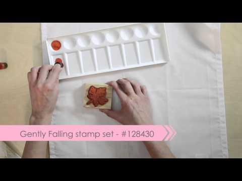 Stamping on Fabric -- Holly Linford