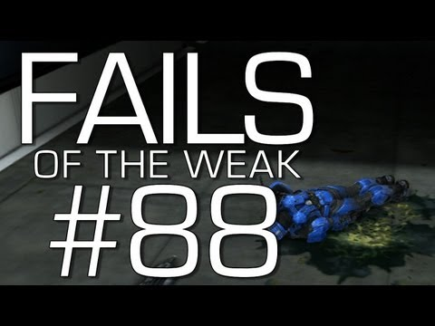 Fails of the Weak: Ep. 88 - Funny Halo 4 Bloopers and Screw Ups! | Rooster Teeth