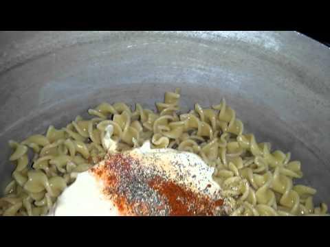 Cheap salmon pasta salad