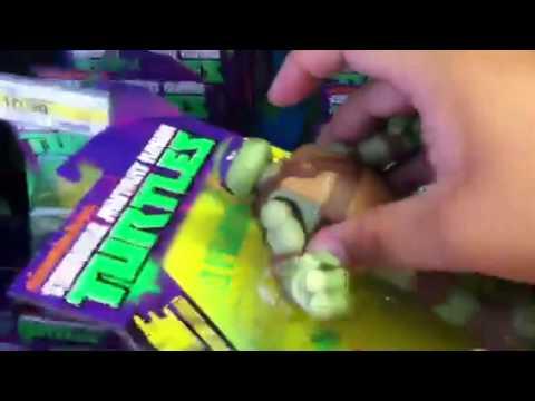 Ninja Turtle Toy Fun