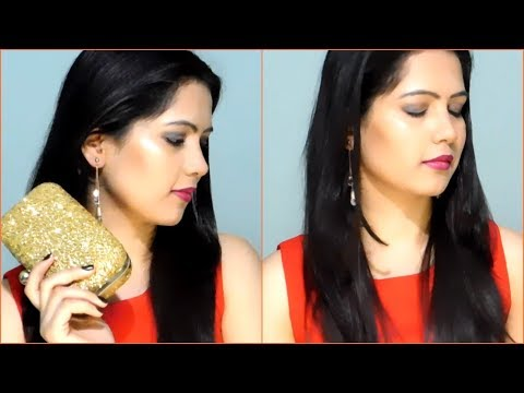 GET READY WITH ME/My birthday makeup tutorial || TipsToTop By Shalini