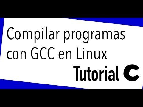 Compilar programas en C con gcc en linux y estandares