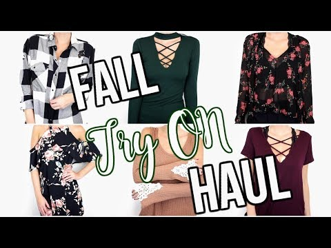 FALL TRY ON HAUL| FALL OUTFIT IDEAS!