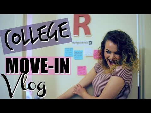 COLLEGE MOVE IN DAY VLOG 2017