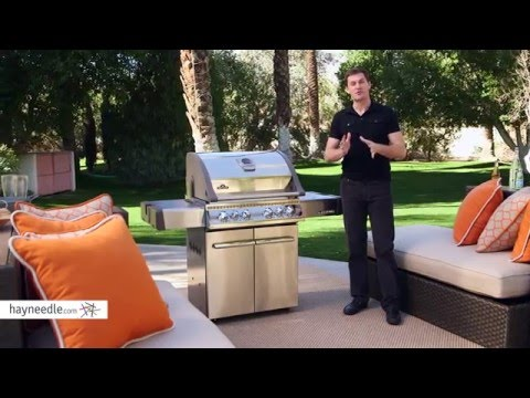 Napoleon Legend 485RSIB Grill with Infrared Searing Burner - Product Review Video