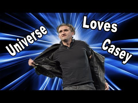 Why the Universe loves Casey Neistat
