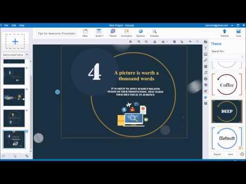 Focusky  Free Video Presentation Software to Create Presentation for Mac