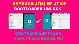 Samsung j710fn flashing error solution binary (Secure Check