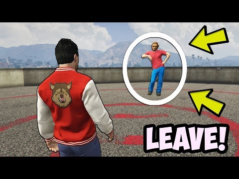 IF YOU SEE HIM IN GTA 5, DELETE YOUR ACCOUNT!