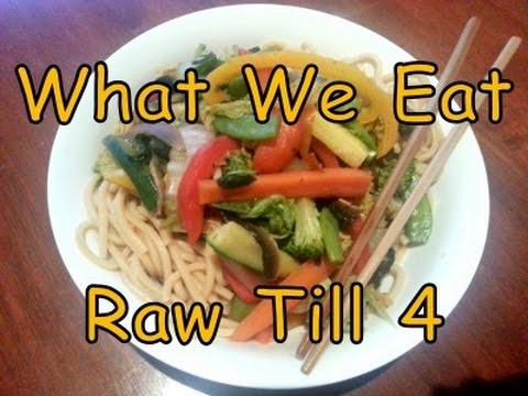 Sugar, Gluten, Ice-cream!? What We Eat - Raw Till 4