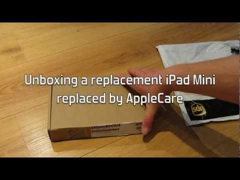 AppleCare Replacement iPad Mini Unboxing