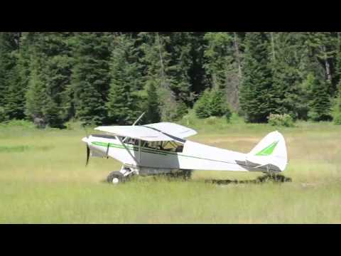 Adventure Flight from Heber Valley Utah to Shearer, ID in a Cessna 206 and Piper Super Cub