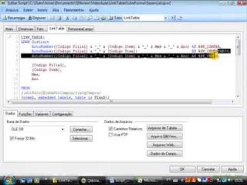 Link Table - Uma outra forma de trabalhar - Final - Qlikview