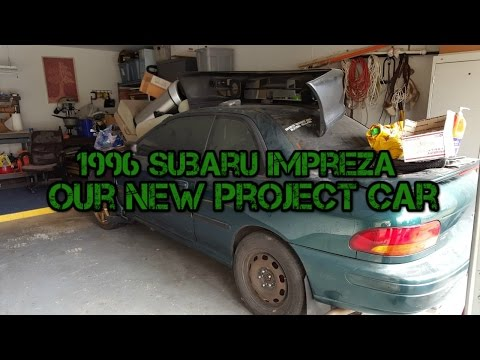Car Build: 96 Subaru Impreza WRX STi Ep. 1 - The Budget GC Build