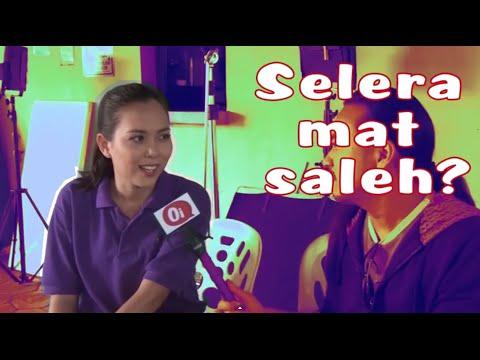 Siti Saleha selera 'mat saleh'?
