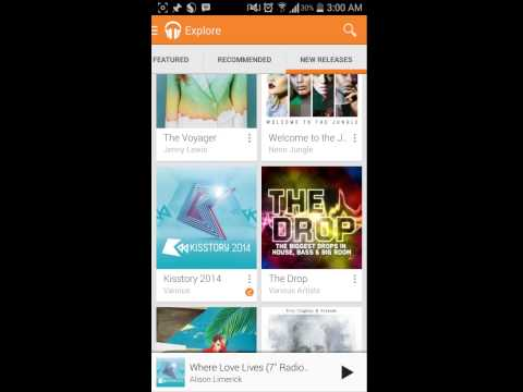 How to save Google play music to external SD card