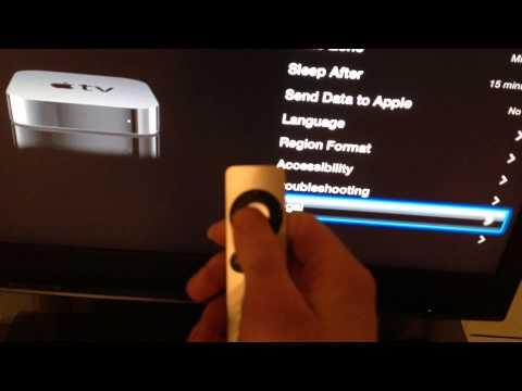 Apple TV Demo Mode