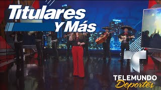 """Paty Navidad nos deleitó con """"Se me olvidó otra vez""""   Titulares y Más   Telemundo Deportes"""