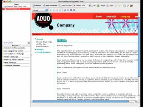 Using Dreamweaver Templates in Adobe Contribute