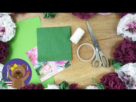 Party Photo Frame DIY | Flower Frame 🎉📷 Party, Birthday, Wedding Idea