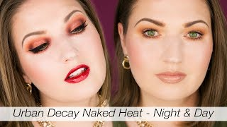Urban Decay Naked Heat 2 Looks!! Day & Evening Makeup For Fall