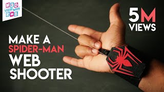 Download How to Make a SPIDER-MAN WEB SHOOTER at home | In Hindi | Marvel Fan Video