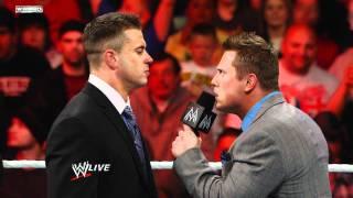 Raw: A fired Alex Riley attacks The Miz