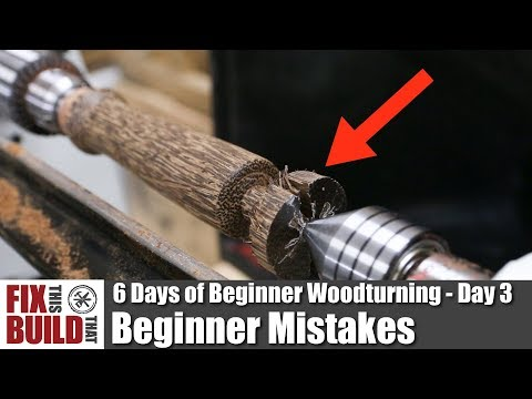 Beginner Mistakes on the Lathe | 6 Days of Beginner Woodturning Day 3