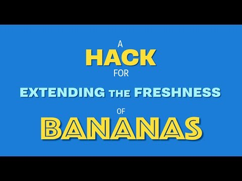 How to Keep your Bananas Fresher, Longer