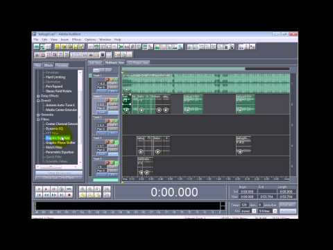 How To Get Quality In Cool Edit 1.5/Adobe Audition 1.5 (Dpryde Settings)