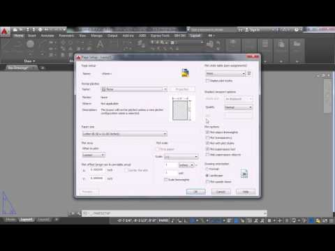 Rhino/Autocad - 29 - Exporting from Rhino to ACAD and Sheet Setup