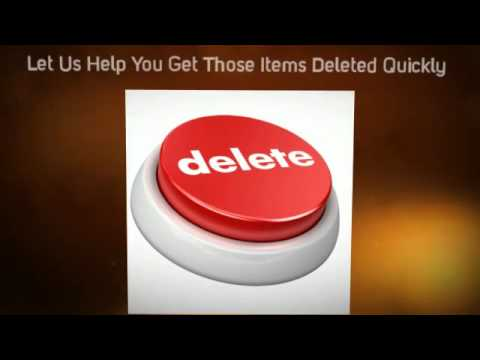 Removing Negative Items From Credit Report