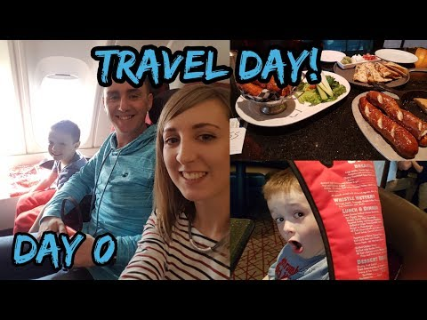 Travel Day Vlog - Florida 2017 - Manchester to Orlando