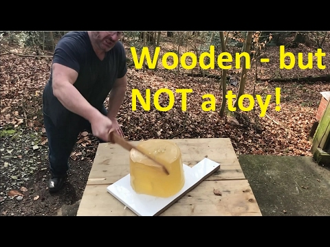 Home Made Wood Sword - Will It Kill?