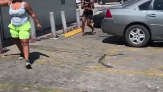 HoodFight: Girls Fight In Houston! Girl Loses Legs!!