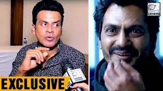 Manoj Bajpayee Reacts On Nawazuddin Siddiqui Copying Him In Kick | Exclusive Interview | LehrenTV