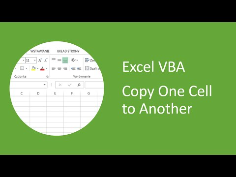 Excel VBA - How to Copy One Cell to Another