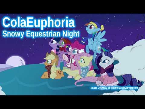 ColaEuphoria - Snowy Equestrian Night
