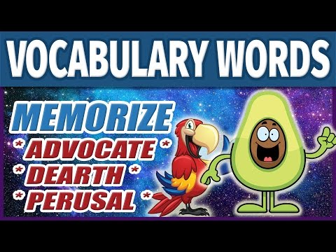 📖 How to Memorize College Vocabulary Words 1 | Learn English SAT Vocab Fast & Easily | Study Skills