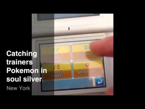 How to catch any trainers Pokemon in Pokemon Soul Silver