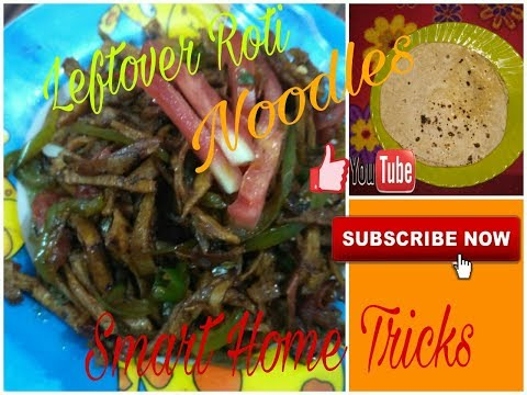 Leftover Roti noodles recipe in Hindi - Healthy Breakfast recipe - DIY