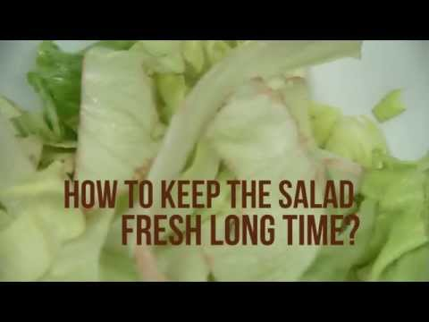How To Keep The Salad Fresh Long Time I DIY