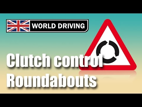 How to use clutch control at roundabouts - anticipating at roundabouts