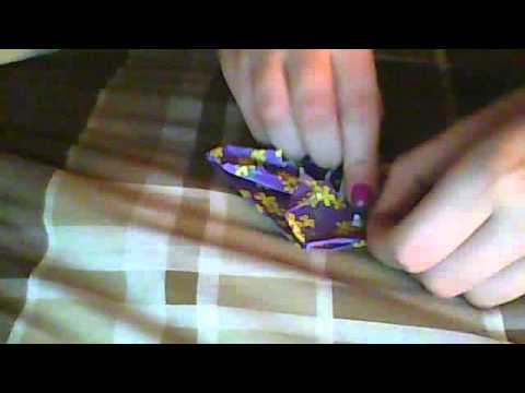 how to make Origami Roulette Wheel