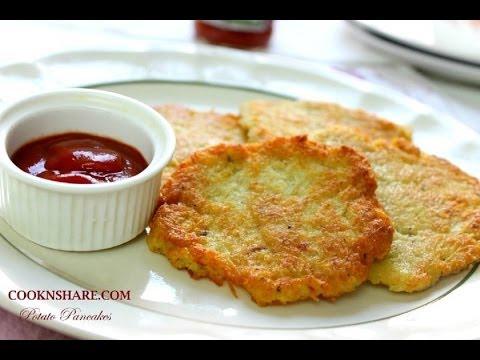 Potato Pancakes - Hash Browns